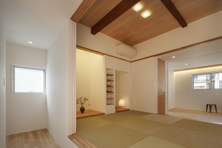 asian Media room by アトリエ スピノザ