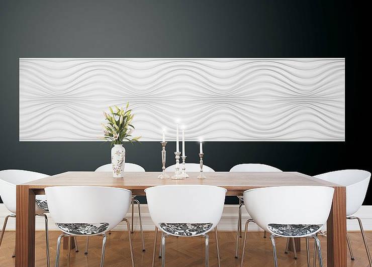 Panele 3D Dunin Wallstar: styl , w kategorii Jadalnia zaprojektowany przez DecoMania.pl
