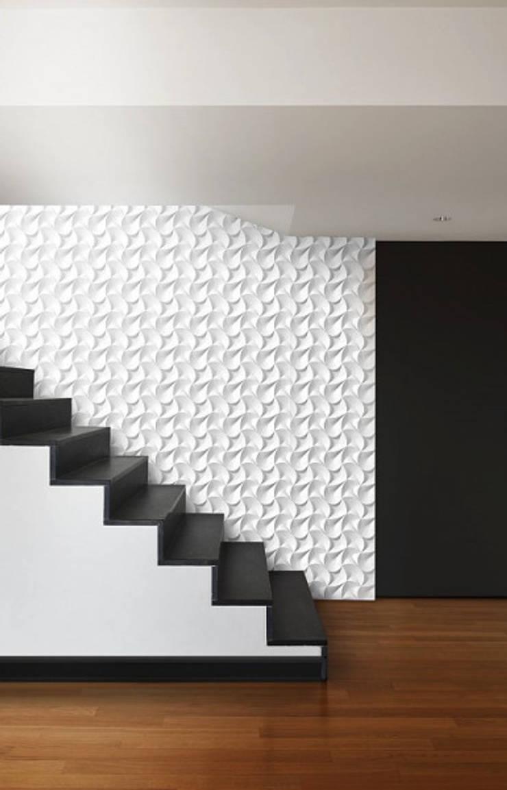 Panele 3D Dunin Wallstar: styl , w kategorii Korytarz, przedpokój zaprojektowany przez DecoMania.pl