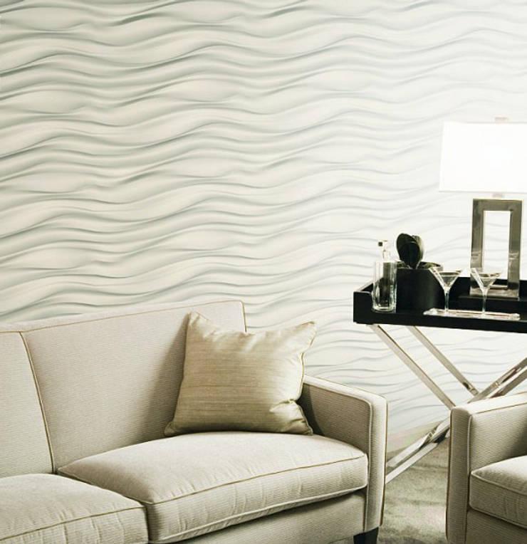 Panele 3D Dunin Wallstar: styl , w kategorii Salon zaprojektowany przez DecoMania.pl