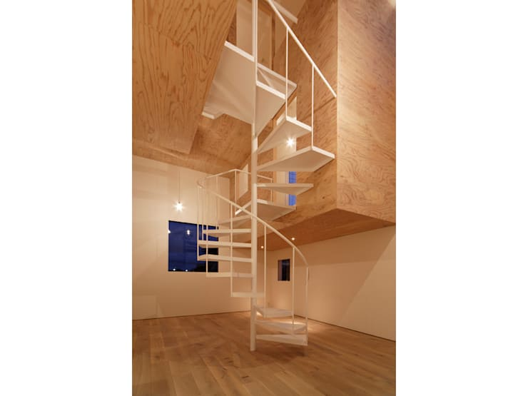 SN-house: TNdesign一級建築士事務所が手掛けた廊下 & 玄関です。,