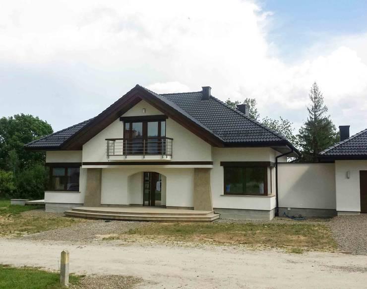 Dom Edward G2 - stylowe piękno i maksimum wygody! : styl , w kategorii Domy zaprojektowany przez Pracownia Projektowa ARCHIPELAG,Nowoczesny