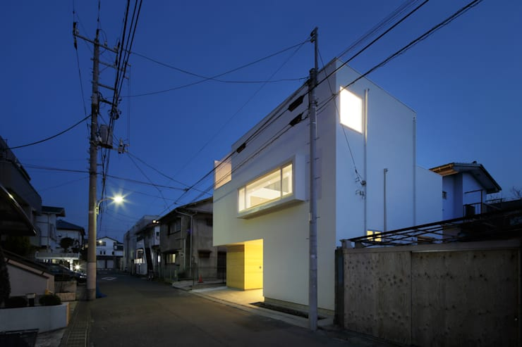 Projekty, minimalistyczne Domy zaprojektowane przez アトリエ スピノザ