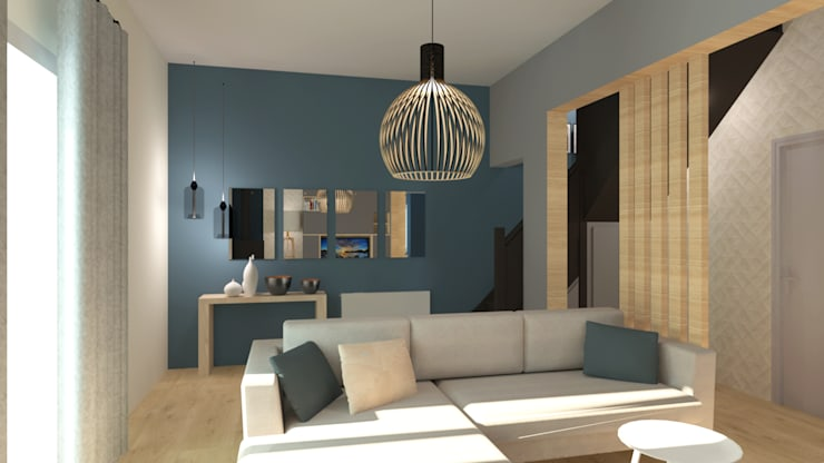 Living room by COLOMBE MARCIANO