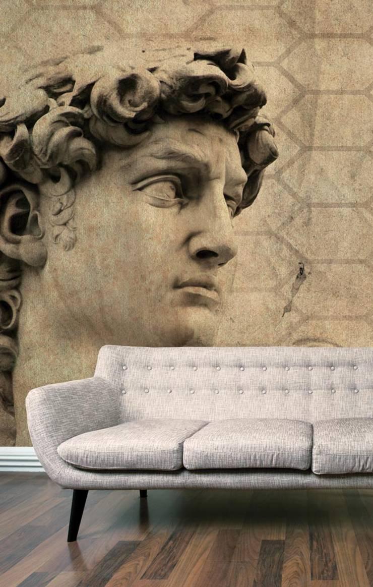 HF019-01-David:   por House Frame Wallpaper & Fabrics