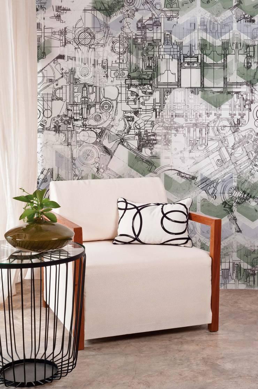 HF065-Machinery:   por House Frame Wallpaper & Fabrics