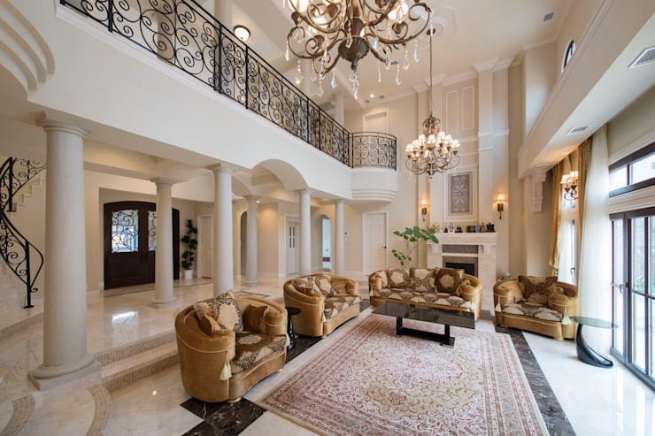 UE house | SANKAIDO: SANKAIDO | 株式会社 参會堂が手掛けたリビングです。