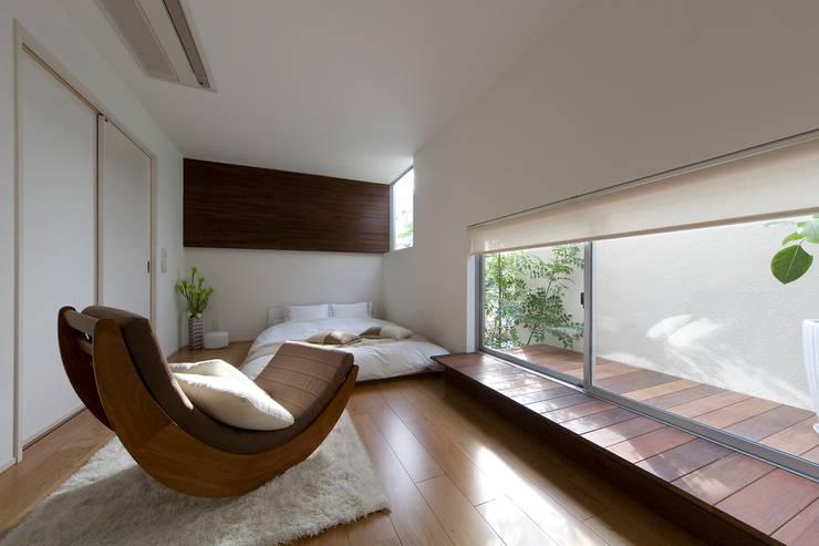 Projekty,  Sypialnia zaprojektowane przez 一級建築士事務所 株式会社KADeL