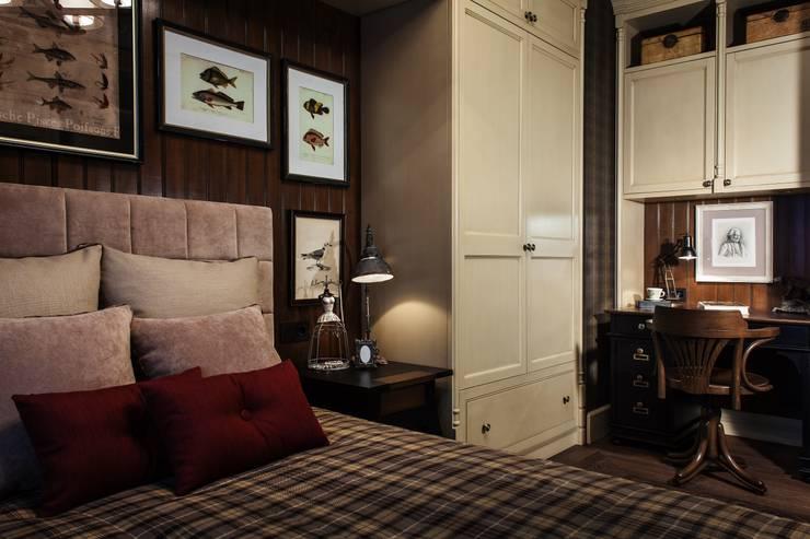 Dormitorios de estilo  por Petr Kozeykin Designs LLC, 'PS Pierreswatch'