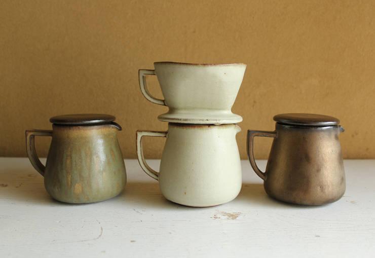 カフェ シリーズ : 陶器 あ⇔んが手掛けたキッチンです。