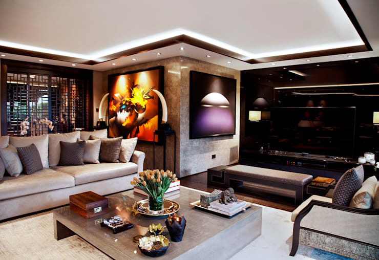 Kerim Çarmıklı İç Mimarlık – K.Ç EVİ:  tarz Oturma Odası