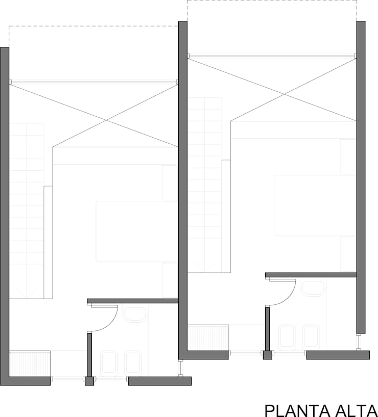 Planta Alta de AHA! Arquitectura