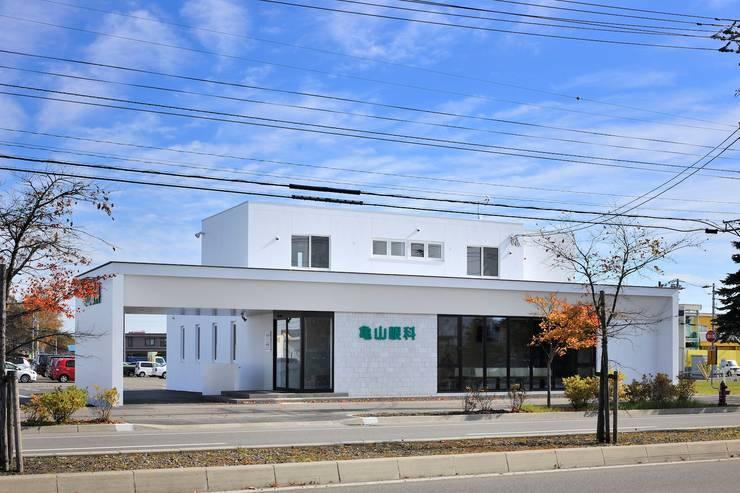 亀山眼科: 一級建築士事務所 アトリエTAROが手掛けた病院です。