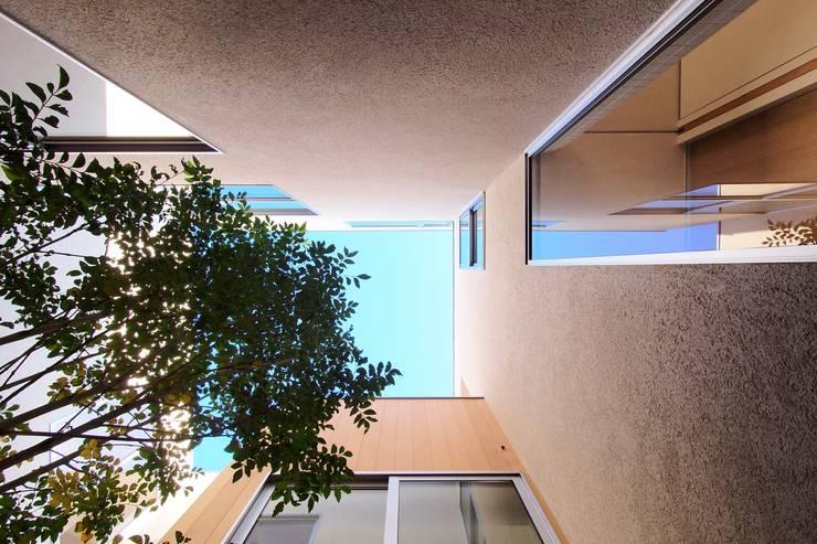 大東の家その2: アトリエ スピノザが手掛けたテラス・ベランダです。,
