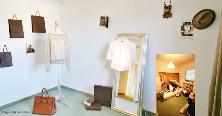 Ruang Ganti by Münchner home staging Agentur GESCHKA