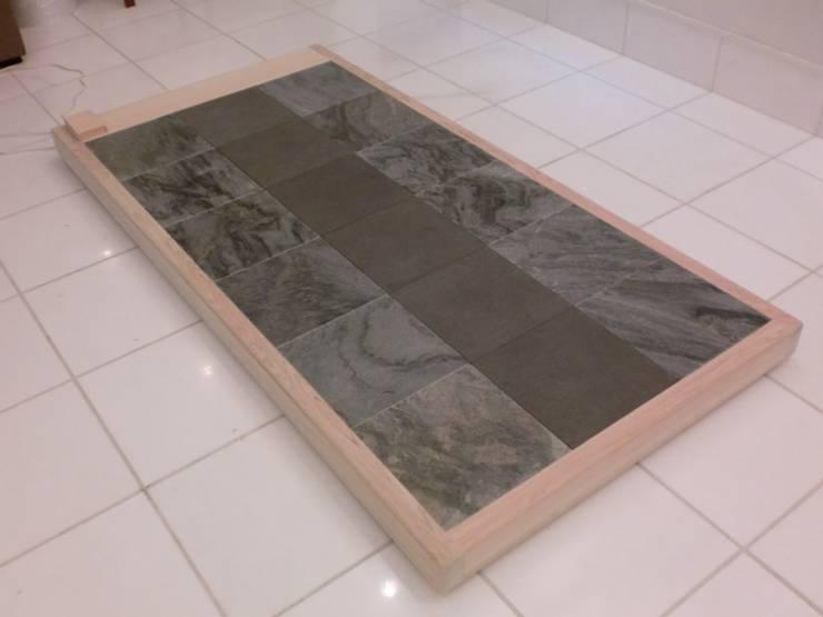岩盤ストーンスパ その2: 株式会社ヒーリング HEALING. Co., Ltd.が手掛けた折衷的なです。,オリジナル 石