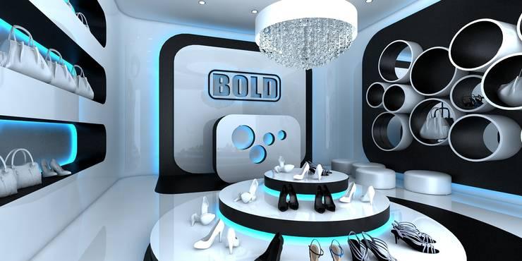 Projektowanie wnętrz sklepów: styl , w kategorii  zaprojektowany przez ArtCore Design