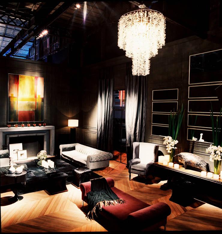 PROJETO ARQ. ELAINE BETTIO: Salas de estar modernas por BRAESCHER FOTOGRAFIA