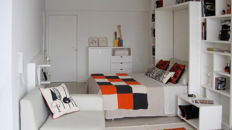 Спальная комната  в . Автор – MINBAI