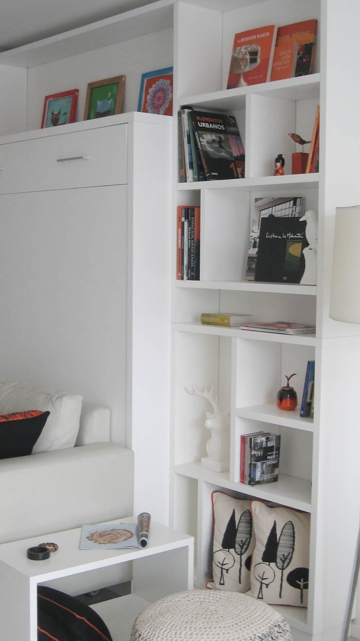 Biblioteca: Livings de estilo  por MINBAI