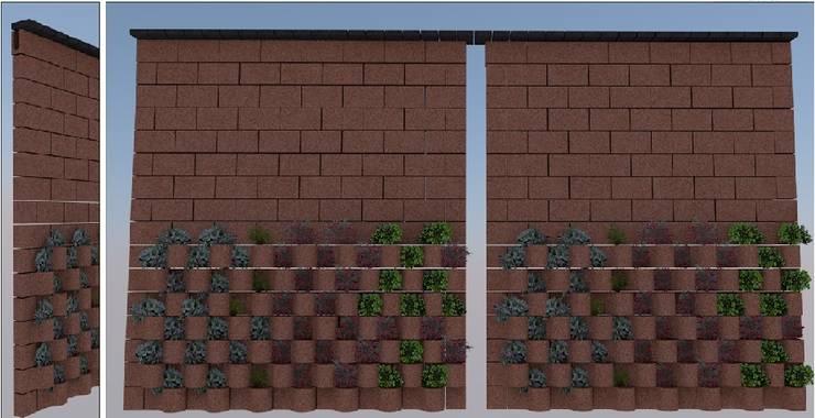 FLORESTA: Jardines de estilo  por ENFOQUE CONSTRUCTIVO