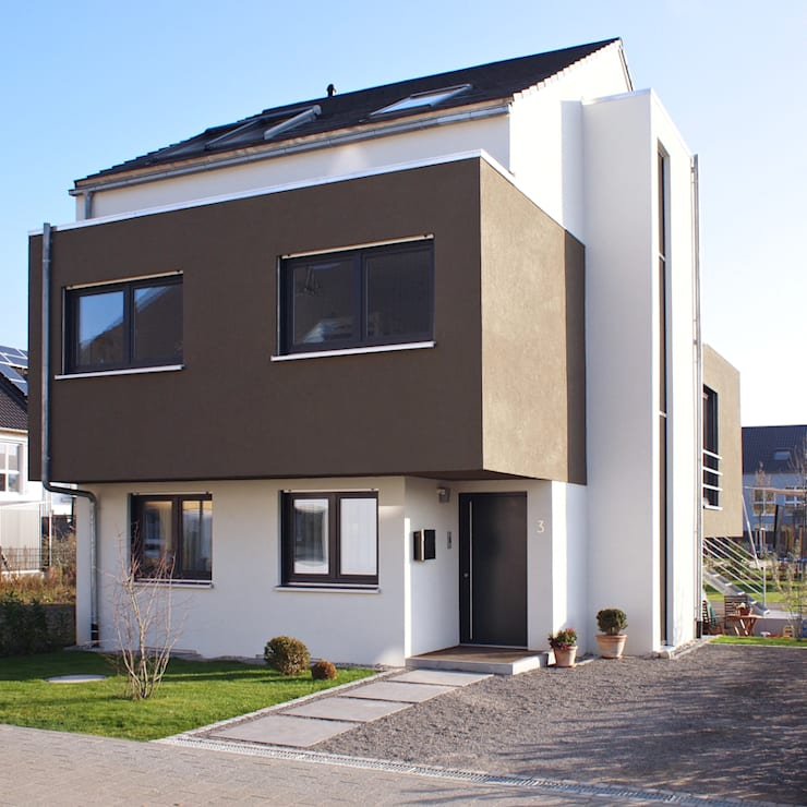 modern Houses by Miccoli ARCHITEKTUR+IMMOBILIEN Atelier
