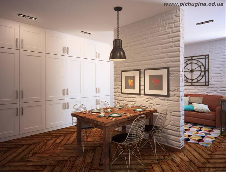 Sala da pranzo in stile in stile Moderno di Tatyana Pichugina Design