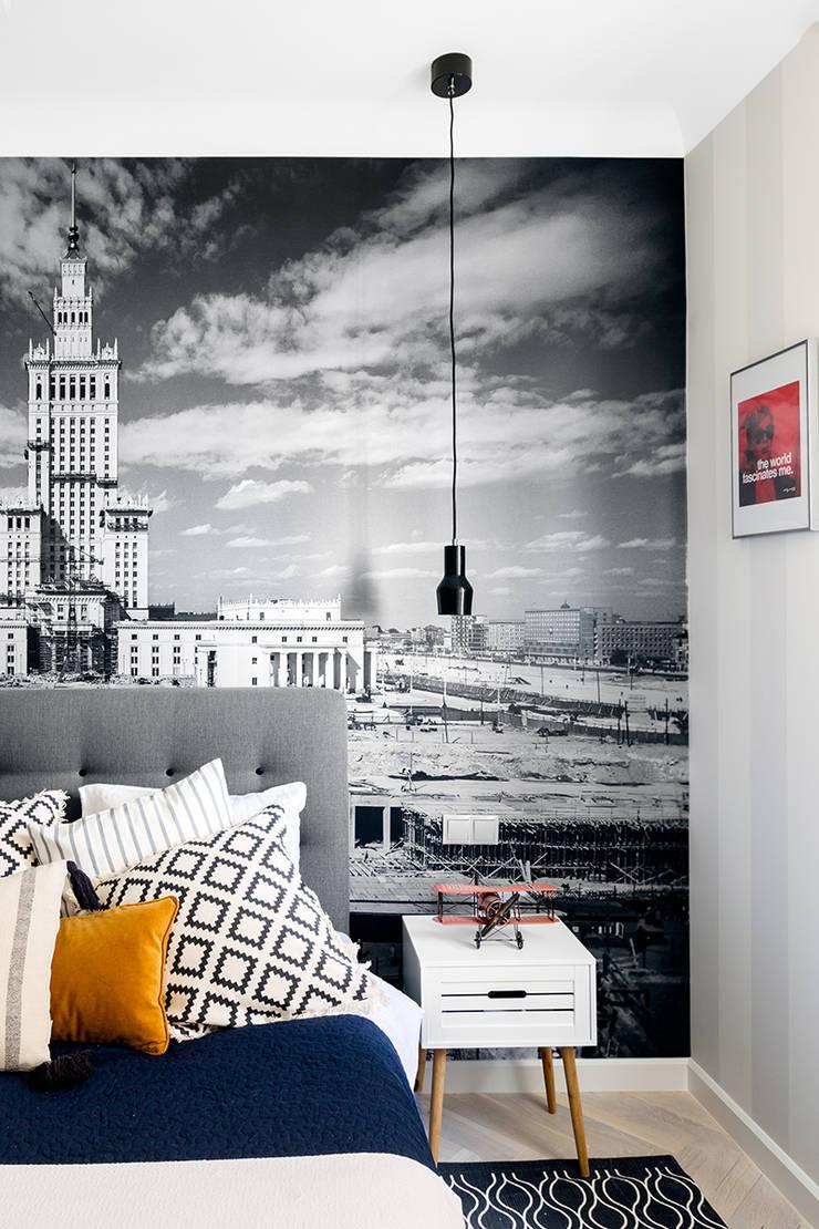 Sentymentalne mieszkanie na Muranowie: styl , w kategorii Sypialnia zaprojektowany przez Dagmara Zawadzka Architektura Wnętrz,Eklektyczny