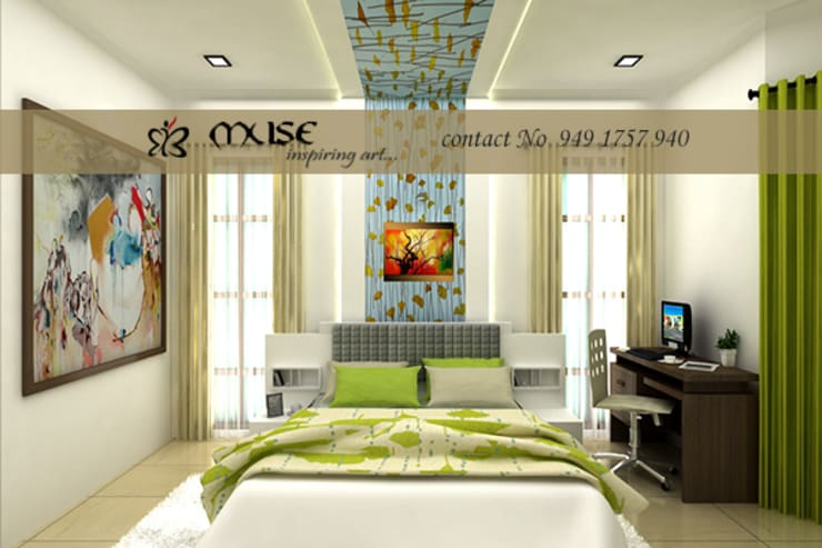 Bedroom by Muse Interiors, Modern
