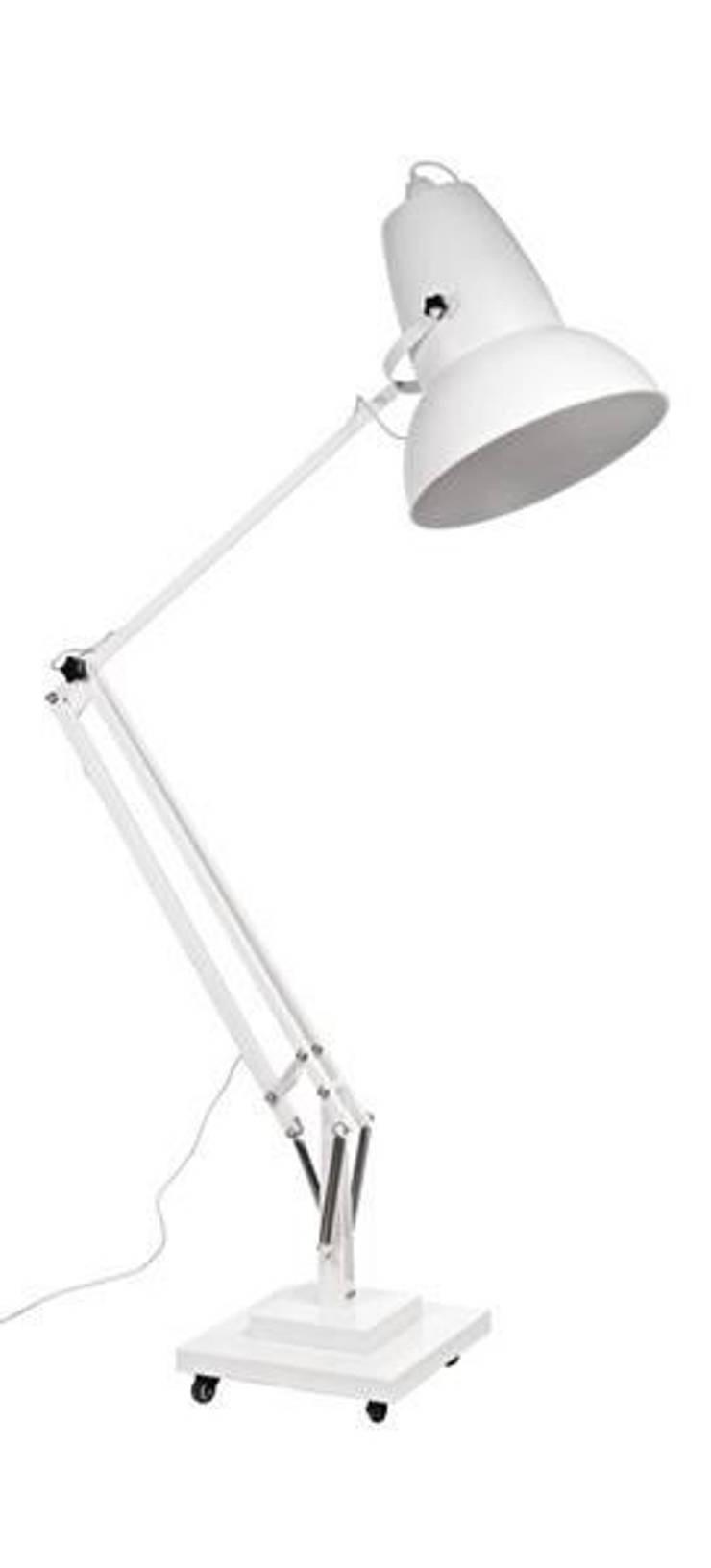 Lampa Gigant: styl , w kategorii Salon zaprojektowany przez ArchonHome.pl