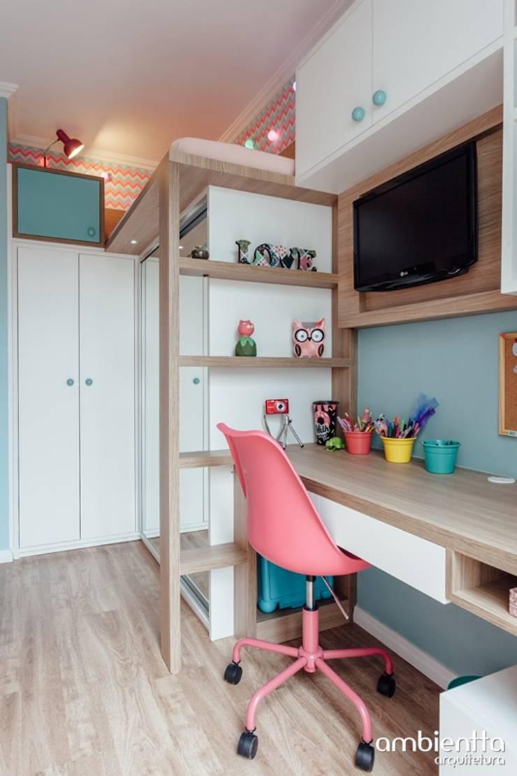 Детские комнаты в . Автор – Ambientta Arquitetura, Модерн