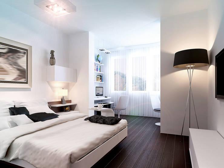 Menz Design – Yatak Odası :  tarz Yatak Odası