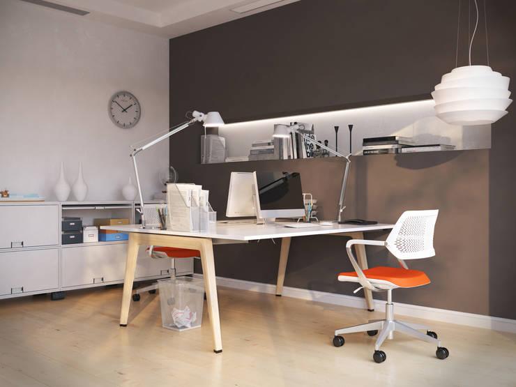Menz Design – Ofis: modern tarz , Modern