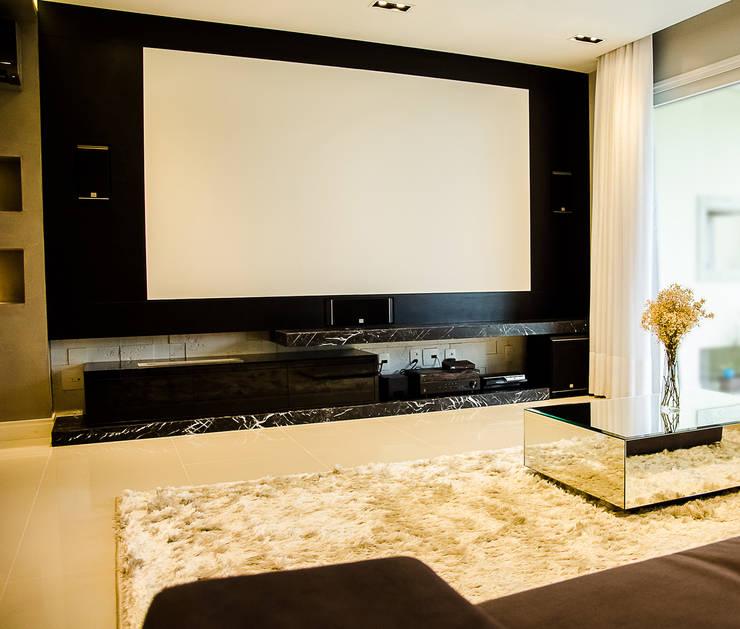 Living room by GhiorziTavares Arquitetura, Minimalist