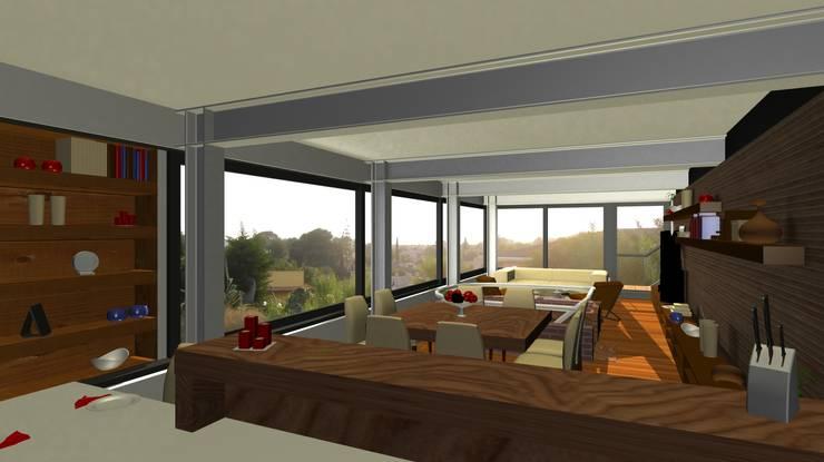 Interior de AHA! Arquitectura