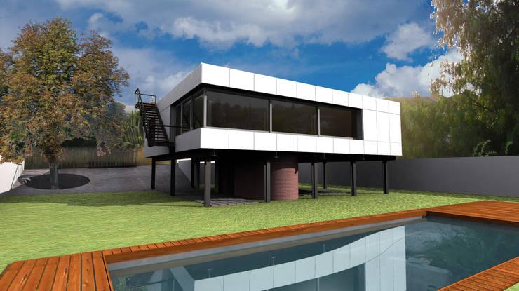 Vista desde el Patio de AHA! Arquitectura