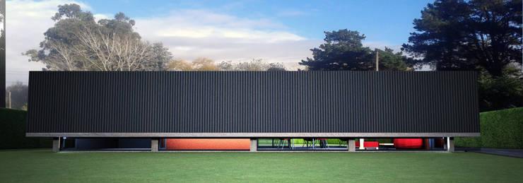 Frente:  de estilo  por AHA! Arquitectura