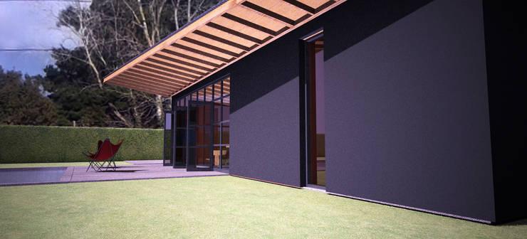 CasaNusdorffer:  de estilo  por AHA! Arquitectura