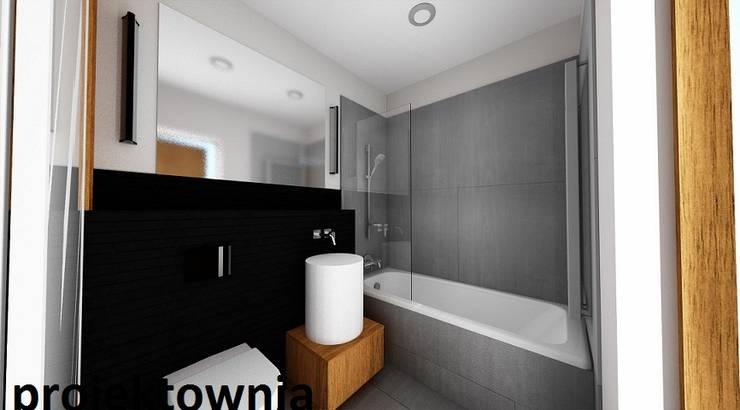 apartament Villa Park: styl , w kategorii Łazienka zaprojektowany przez Projektownia Marzena Dąbrowska