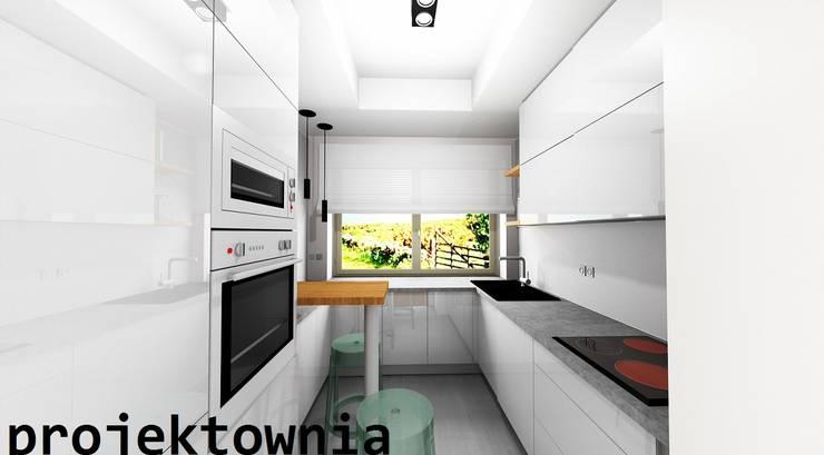 apartament Villa Park: styl , w kategorii Kuchnia zaprojektowany przez Projektownia Marzena Dąbrowska