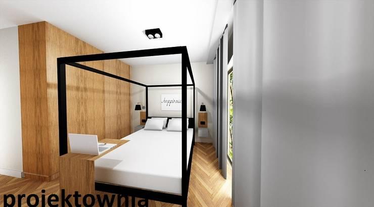 apartament Villa Park: styl , w kategorii Sypialnia zaprojektowany przez Projektownia Marzena Dąbrowska
