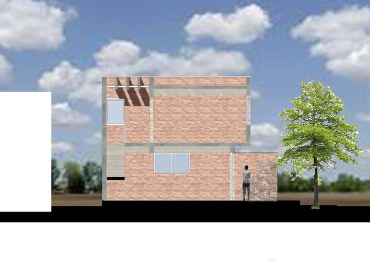 Casa OM. (En Construcción): Casas de estilo  por En obra arquitectos,