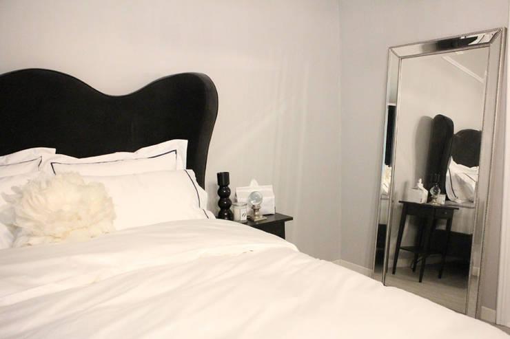 마스터 베드룸: 모린홈의  침실