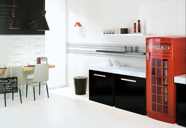 Kolekcja Abrilia Ceramika Paradyż: styl , w kategorii Kuchnia zaprojektowany przez Ceramika Paradyż,Minimalistyczny