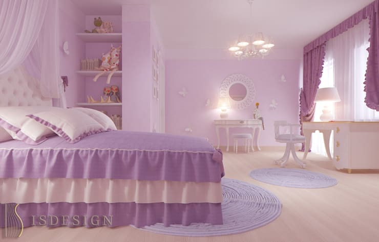 Детская комната: Детские комнаты в . Автор – ISDesign group s.r.o.
