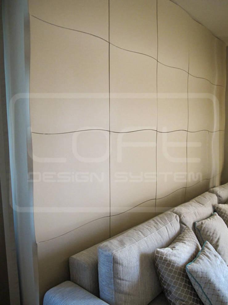 Panele Dekoracyjne 3D - Loft Design System - model Flutter: styl , w kategorii  zaprojektowany przez Loft Design System,Nowoczesny