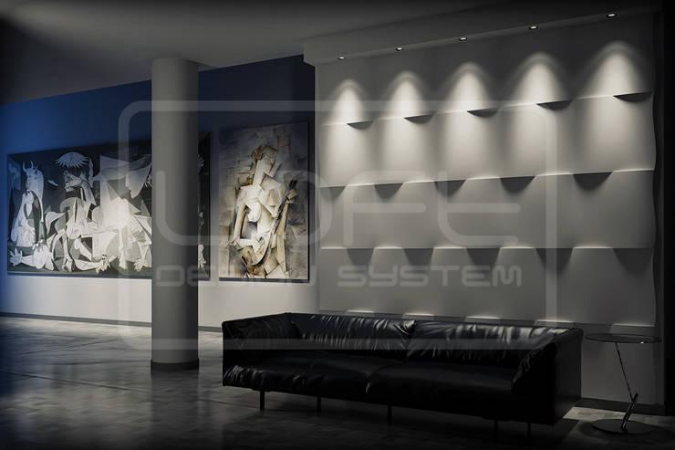 Panele Dekoracyjne 3d Loft Design System Model Flutter