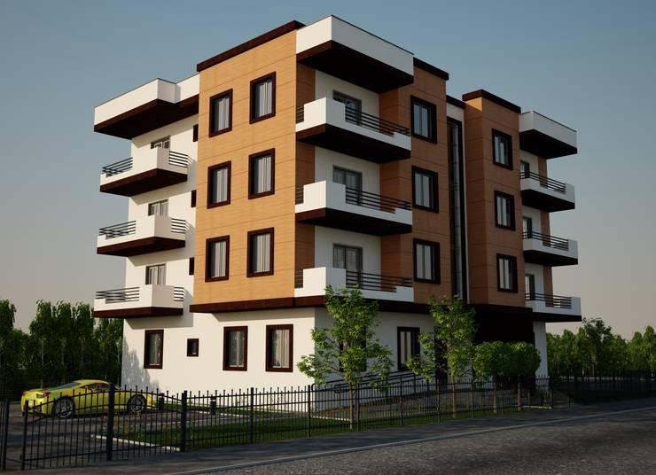 H.E: Mimarlık – Kadir Bey Konut: modern tarz Evler