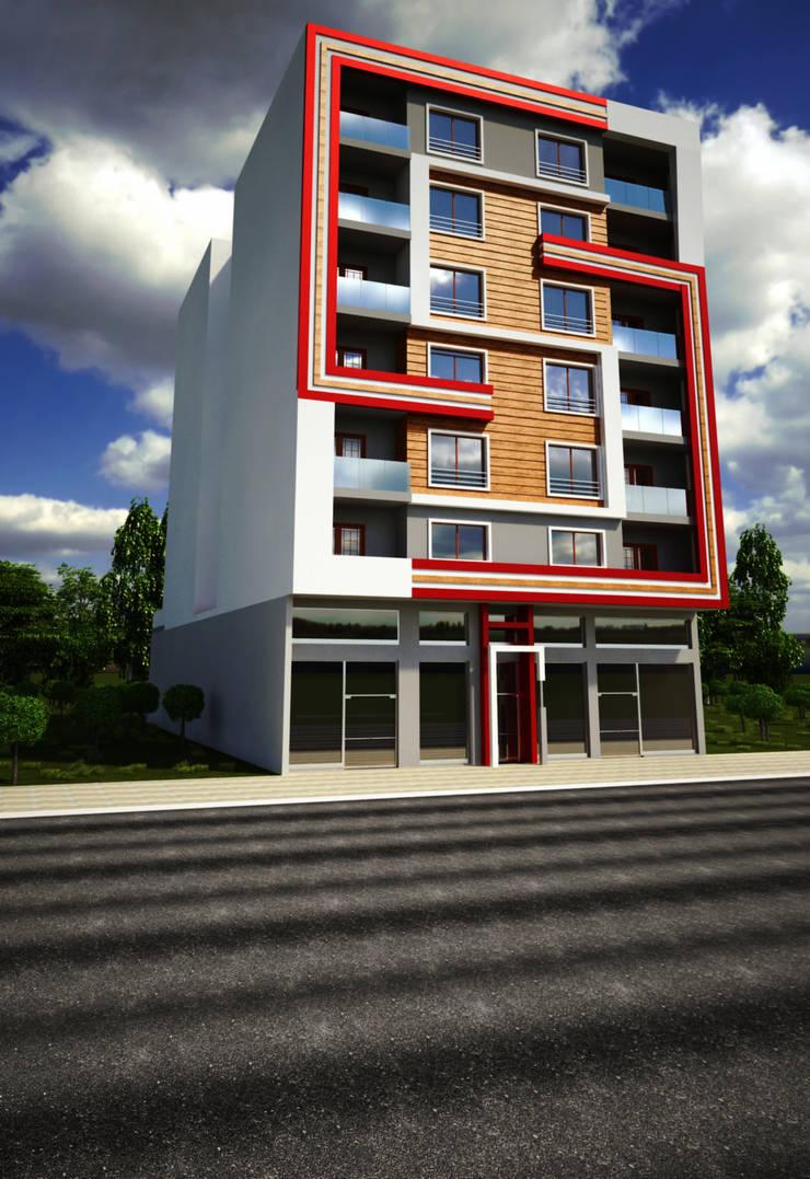 H.E: Mimarlık – Adnan Bey Konut Projesi:  tarz Evler