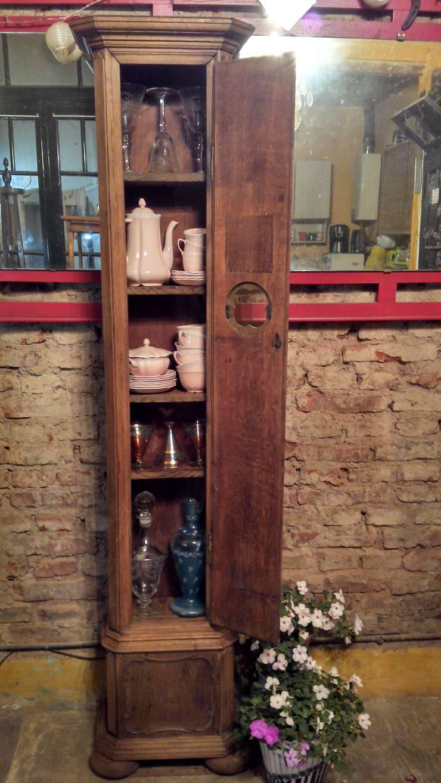 ANTIGUO GABINETE DE ROBLE:  de estilo  por Muebles eran los de antes - Buenos Aires,Rústico Madera maciza Multicolor